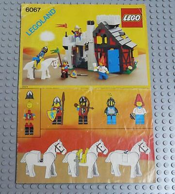 LEGO INSTRUCTIONS MANUAL BOOK ONLY 6067 Guarded Inn x1PC