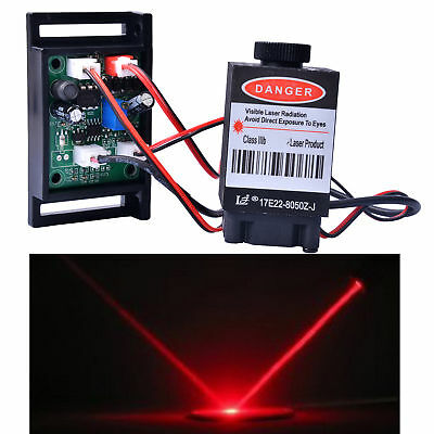 Focusable 500mw 808nm Infrared IR Laser Diode Dot Module TTL 12V Carving
