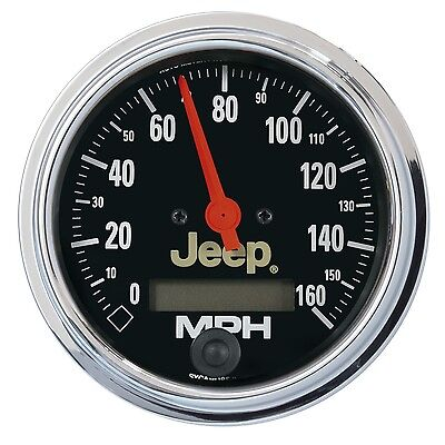 AutoMeter 880244 Jeep Electric Programmable Speedometer
