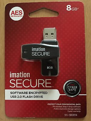 Imation Secure Software Encryption Flash Drive 8Gb i25891