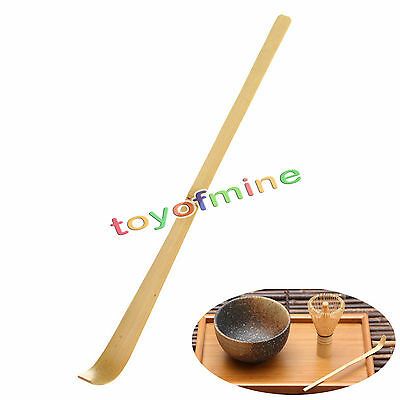 Retro Japanese Bamboo Tea Ceremony Spoon Matcha Scoop Tea Tools