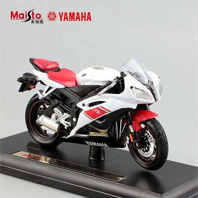 1:18 scale YAMAHA YZF-R6 R6 supermotor diecast sport bike motorcycle model toys