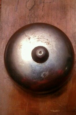 Vintage door bell pull chain ringer non electric antique