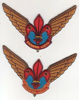 Air Scout Mexico patches, badges - 2 different