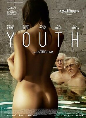 POSTER Youth (ITALY, 2015) Michael Caine, Harvey Keitel, Rachel Weisz - FR2708