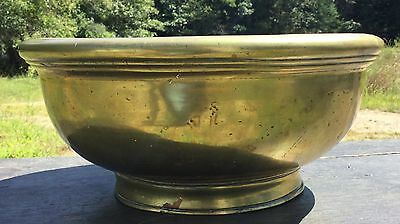 Imperial -Cast Brass or Bronze Lotus Bowl with Seal