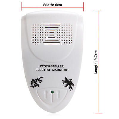 Pest Repeller Ultrasonic Electric In Bedroom Indoor Insect Killer Fashion Small