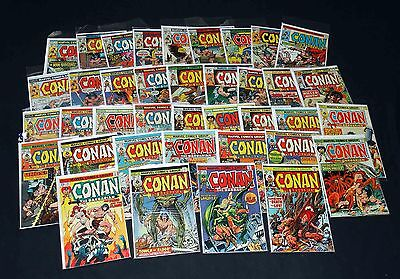 Conan The Barbarian #41-61,63-76,79, Very Good/Fine 1970 Original Series Marvel