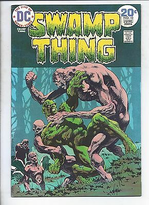 Swamp Thing  #10  (  Vf+  )   Bernie Wrightson