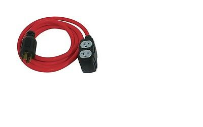 King Canada Tools K-L1430-10 10 FOOT GENERATOR EXTENSION CORD NEMA L14-30P 240V