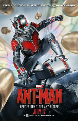 "Ant Man ( 11"" x 17"" ) Movie Collector's Poster Print (T2) - B2G1F"