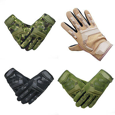 Outdoor Mechanix Wear Army Military Tactical Gloves Outdoor Full Finger New NS