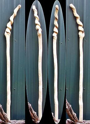 "54"" Hack Berry Hardwood Wood Dwarf Mace Wood Scepter WOW ApocalypticTribal Club"
