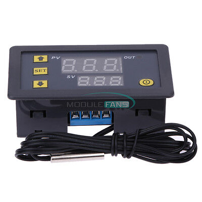 12V 20A W3230 LCD Digital Thermostat Temperature Controller Meter Regulator