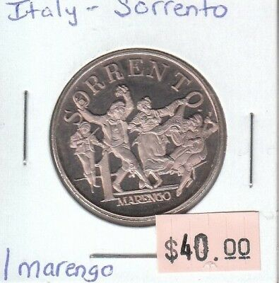 Italy Medallion - Sorrento - 1 Marengo