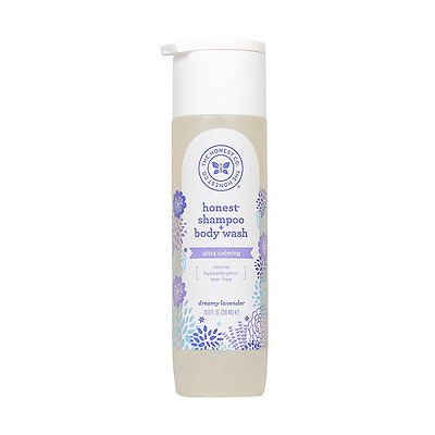 Honest Calming Lavender Hypoallergenic Shampoo and Body Wash with Naturally Deri