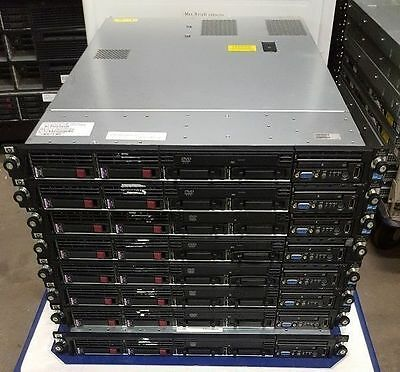 HP DL360 G6 Server 2 x Xeon Quad Core 2.4Ghz E5530 24GB Ram 4 x 72GB SAS Rails