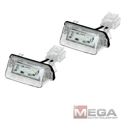 LED Lampe Kennzeichenbeleuchtung Peugeot 206 207 306 307 308 406 407 5008