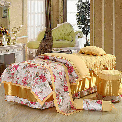 Massage Table Beauty Bed Cover Sheets Set Set with face hole (Australian Seller)