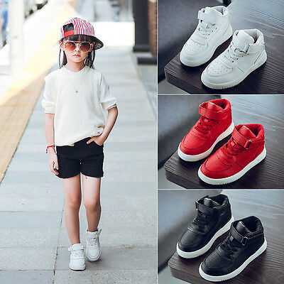 kid's Baby Flat Casual Shoes Cool Sports Running Shoes for Child Kids Boys Girls