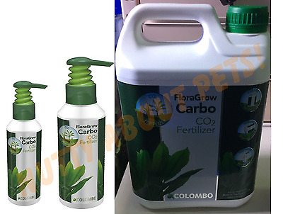 Colombo Floragrow Carbo C02 Liquid Carbon Fertilizer 250Ml, 500Ml, 2.5Ltr