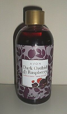 Avon - Dark Orchid And Raspberry- Bubble Bath