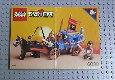 LEGO INSTRUCTIONS MANUAL BOOK ONLY 6038 Wolfpack Renegades x1PC