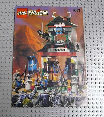 LEGO INSTRUCTIONS MANUAL BOOK ONLY 6083 Samurai Stronghold x1PC