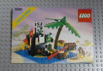 LEGO INSTRUCTIONS MANUAL BOOK ONLY 6260 Shipwreck Island x1PC