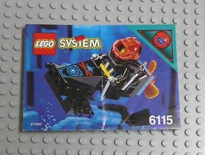 LEGO INSTRUCTIONS MANUAL BOOK ONLY 6115 Shark Scout x1PC