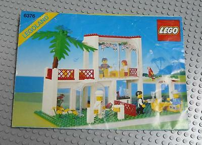 LEGO INSTRUCTIONS MANUAL BOOK ONLY 6376 Breezeway Cafe x1PC