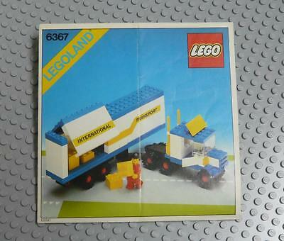 LEGO INSTRUCTIONS MANUAL BOOK ONLY 6367 Truck x1PC