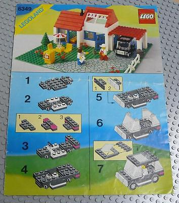 LEGO INSTRUCTIONS MANUAL BOOK ONLY 6349 Vacation House x1PC