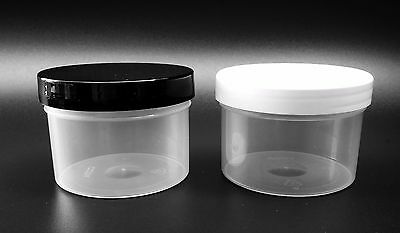 150ml Empty Clear Pots, jars, containers for crafts, beads, cosmetics, storage