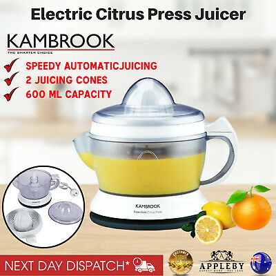 Electric Citrus Juicer Orange Juice Squeezer Press Machine Lemon Fruit Extractor