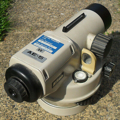 Nikon AE-5 Surveyors Dumpy Level