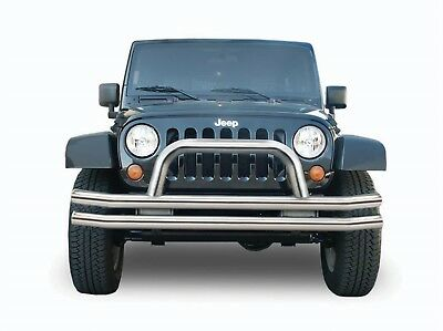 Rampage 8420 Front Double Tube Bumper