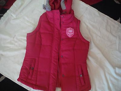 Cardiff City  Official Football Club Body Warmer Size 10