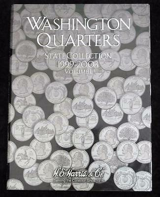 State Quarters Collection Book * Volume 1 1999-2003 * Empty Book *No Coins* 2580