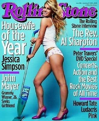 ROLLING STONE JESSICA SIMPSON POSTER PRINT 22x34 FREE SHIPPING