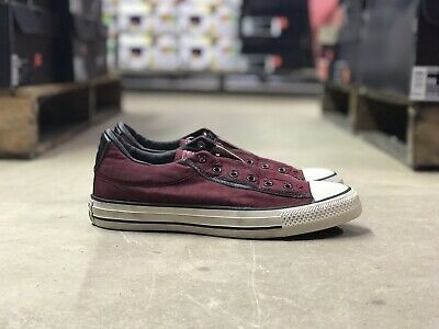 5296ef2ac6d8 Converse John Varvatos Chuck Taylor All Star Slip On Red White 153900C Size  6