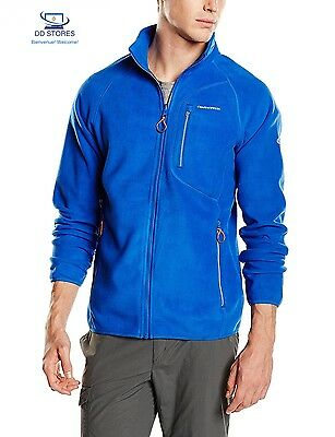 Craghoppers Mens Ryeland Interactive Insulated Fleece Jacket Royal