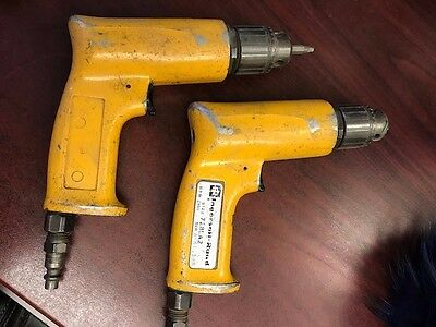Ingersoll-Rand Set of 2 Pneumatic Drills