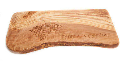 Dinner Is Coming Olive Wood Chopping Board Game Of Thrones Inspired Gift