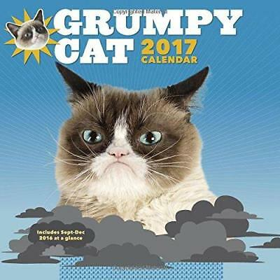Grumpy Cat 2017 Wall Calendar – Calendar, July 26, 2016