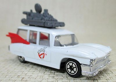 1989 Vintage Die-Cast Car Wagon Ghostbusters 2 Ecto I Columbia Pictures