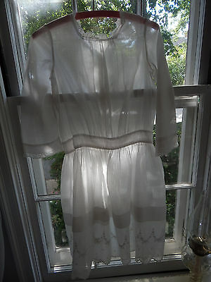 Charming Antique Victorian Edwardian Girl's Dress Attic Find ID'd