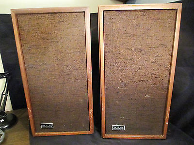 Pair KLH Model 17 (Seventeen) Speakers in Good Working Order