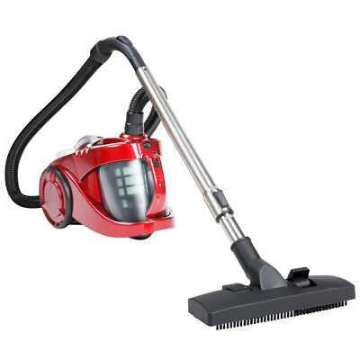NEW 2800W Bagless Cyclone Cyclonic Vacuum Cleaner HEPA Red, Foot Pedal Switch