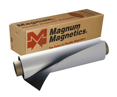 """24"""" x 10' roll flexible Magnetic sheet for sign vinyl Fast Shipping"""